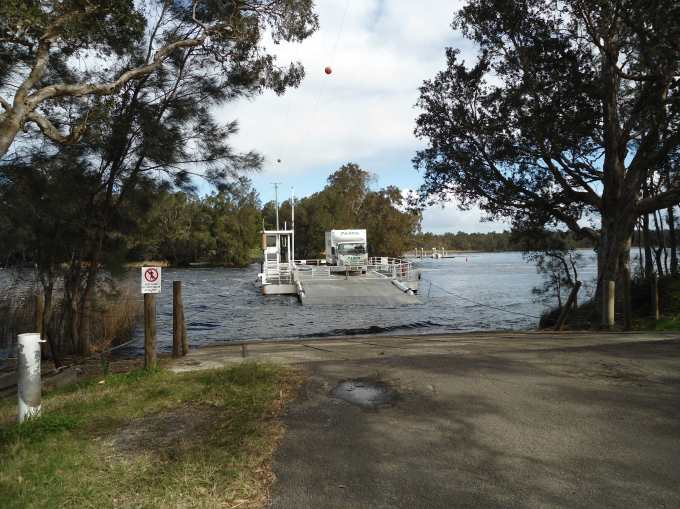 Bombah Point Ferry